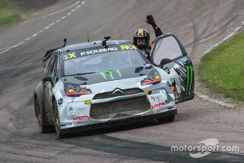 Il vincitore: Petter Solberg, SDRX Citroën DS3