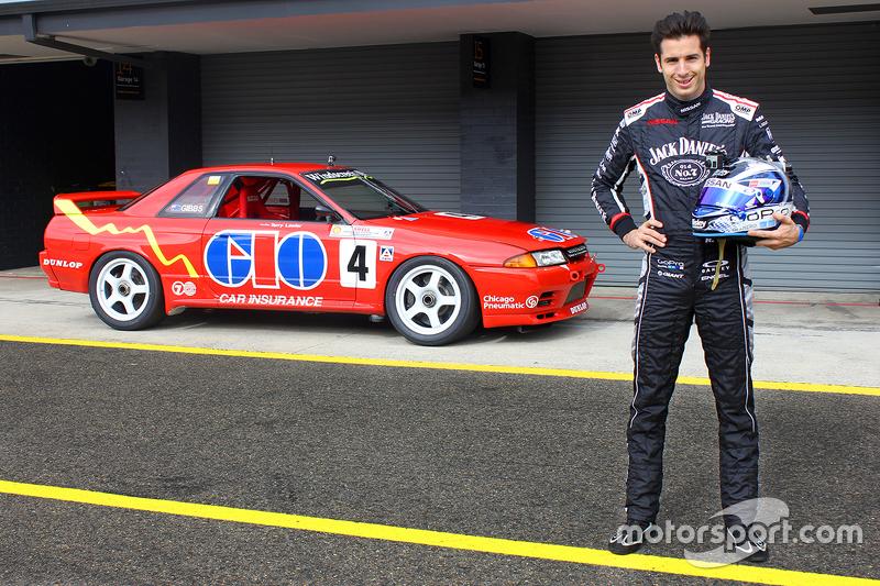Rick Kelly testet den R32 Skyline