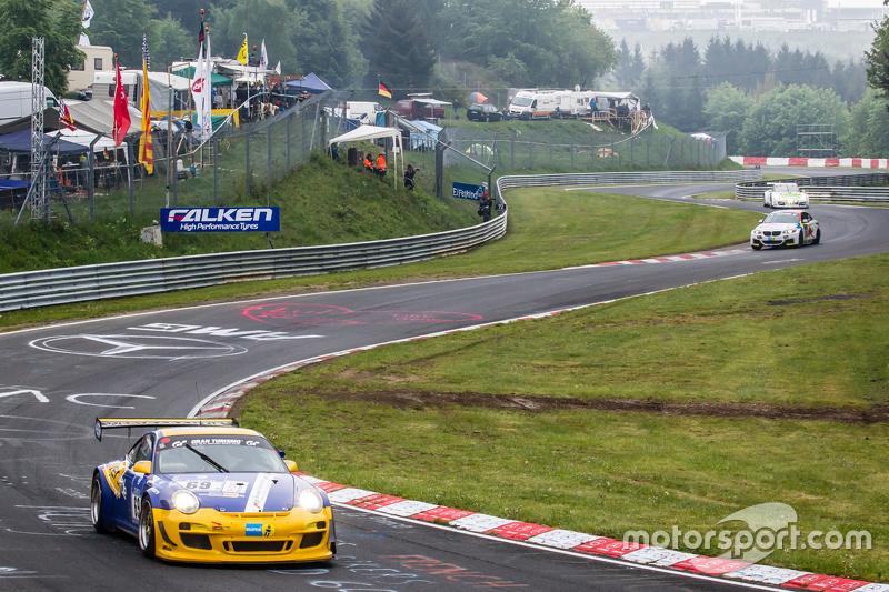 #69 Sex Bomb Porsche 997 GT3 Cup: Wolfgang Destrée, Kersten Jodexnis, Edgar Salewsky, Робін Chrzanow