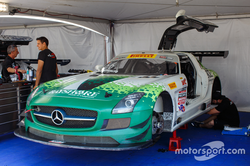 #66 DragonSpeed, Mercedes-Benz AMG SLS GT3: Frankie Montecalvo