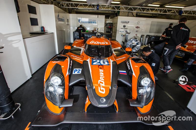 #26 G-Drive Racing, Ligier JS P2