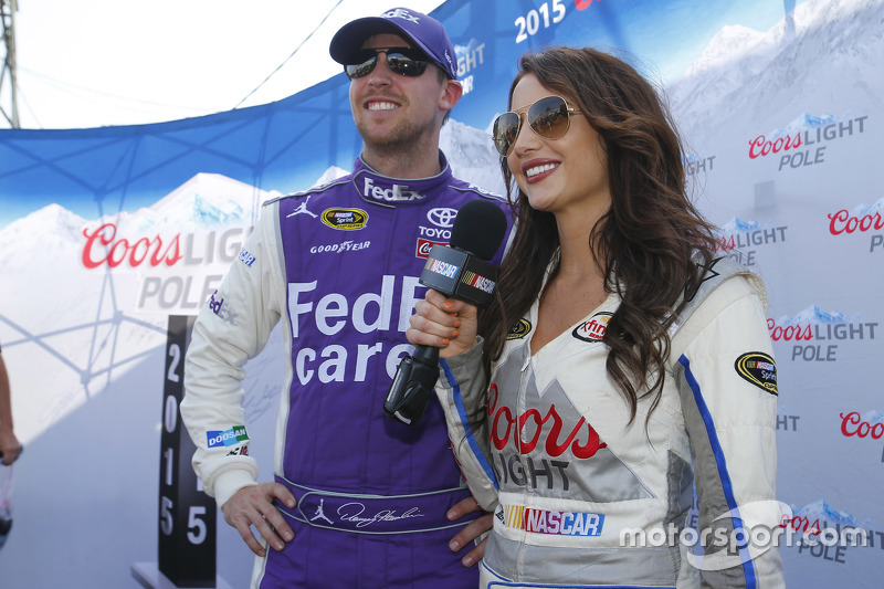 Pole-Sitter: Denny Hamlin, Joe Gibbs Racing, Toyota