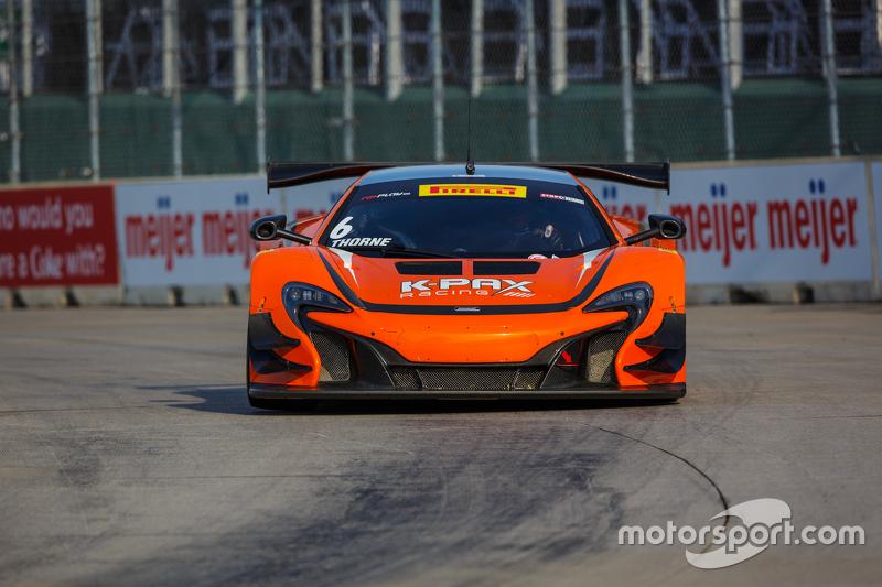 #6 K-Pax Racing McLaren 650S GT3: Robert Thorne