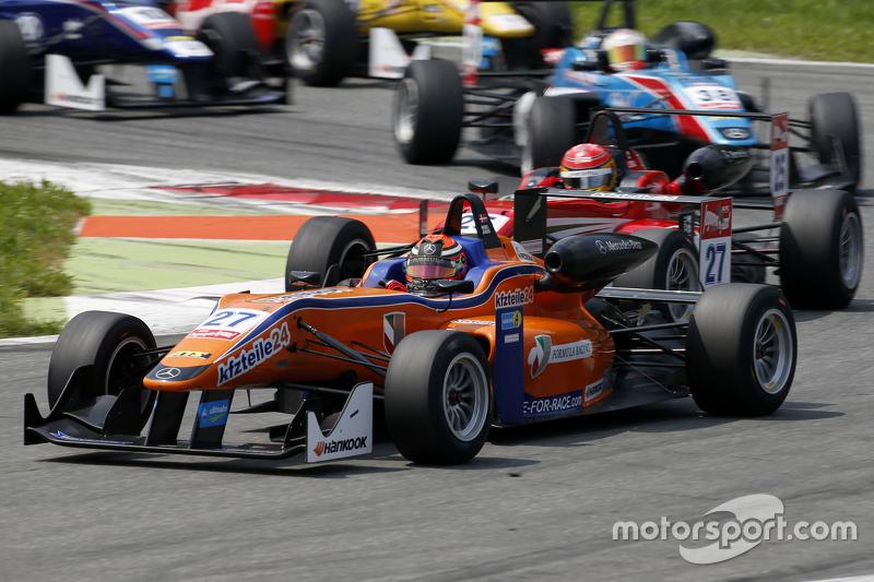 Міккель Йенсен, Mücke Motorsport Dallara Mercedes-Benz та Ленс Стролл, Prema Powerteam Dallara Merce