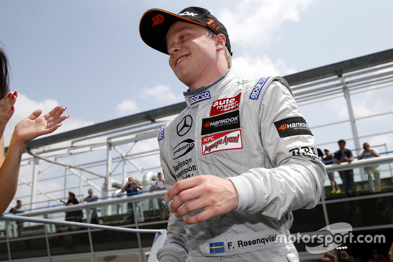 Race 1 Winner: Felix Rosenqvist, Prema Powerteam