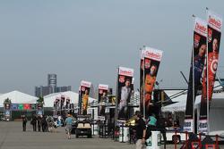 Detroit paddock