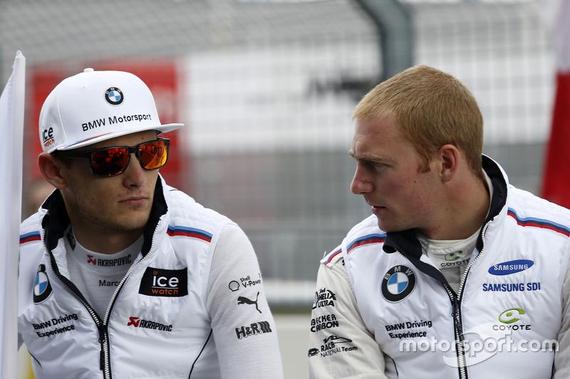 Марко Віттман, BMW Team RMG BMW M4 DTM та Максім Мартін, BMW Team RMG BMW M4 DTM