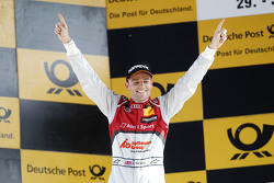 Podium: Winnaar Jamie Green, Audi Sport Team Rosberg Audi RS 5 DTM