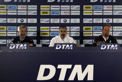 Pressekonferenz mit Jens Marquardt, BMW; Dieter Gass, Audi Sport; Ulrich Fritz, Mercedes AMG