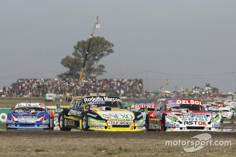 Omar Martinez, Martinez Competicion Ford and Juan Pablo Gianini, JPG Racing Ford and Matias Rodrigue