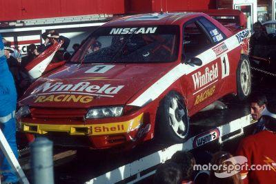 Rick Kelly drives 1992 Nissan GTR