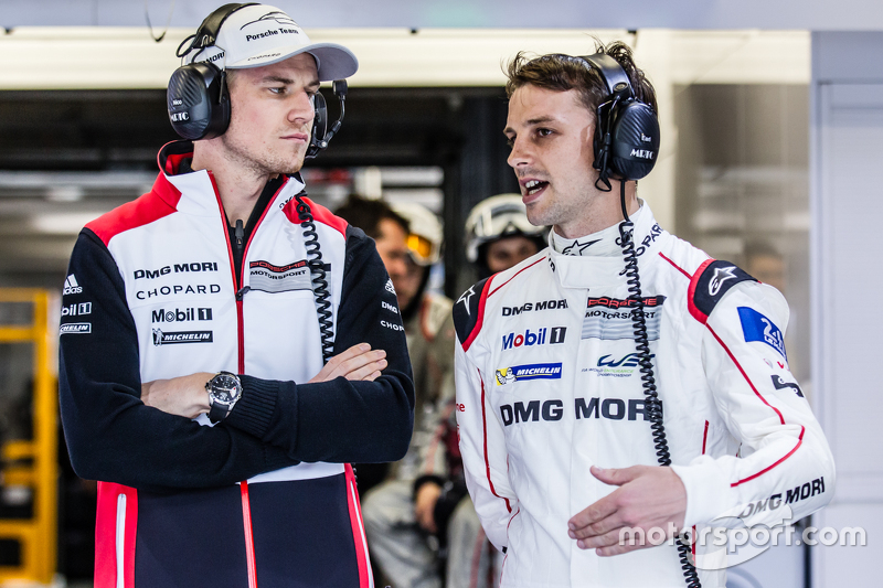 #19 Porsche Team, Porsche 919 Hybrid: Nico Hülkenberg und Earl Bamber