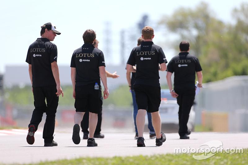 Alan Permane, Lotus F1 Team Trackside Operations
