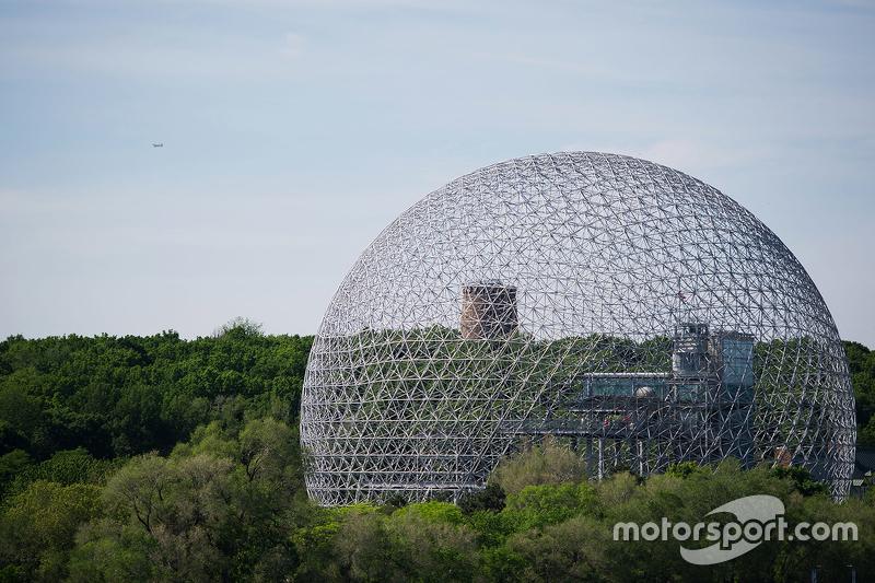 The Expo 67 globe