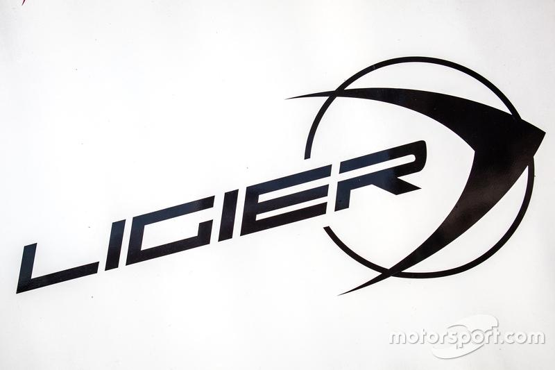Ligier-Schild mit Logo