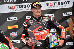 Chaz Davies, Ducati Superbike Team, 3. in der Superpole