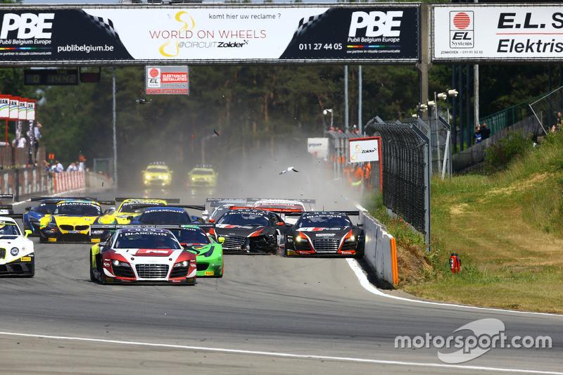 #3 Belgian Belgian Audi Club Team WRT, Audi R8 LMS ultra: Stéphane Richelmi, Stéphane Ortelli und #4