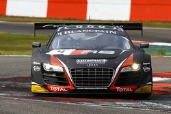 #4 Belgian Audi Club Team WRT Audi R8 LMS Ultra: Frank Stippler, James Nash