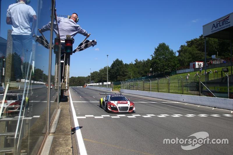 #1 Belgian Audi Club Team WRT Audi R8 LMS Ultra: Robin Frijns, Laurens Vanthoor memenangkan balapan