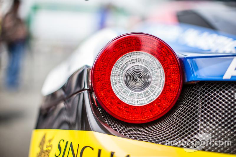 #51 AF Corse Ferrari 458 GTE detail