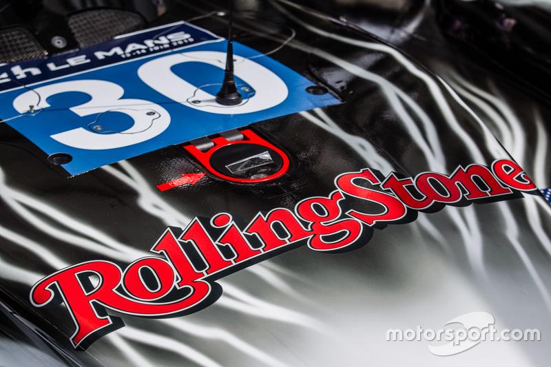 #30 Extreme Speed Motorsports, Ligier JS P2, Rolling Stones als Sponsor