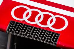 Detail hidung depan #8 Audi Sport Team Joest Audi R18 e-tron quattro