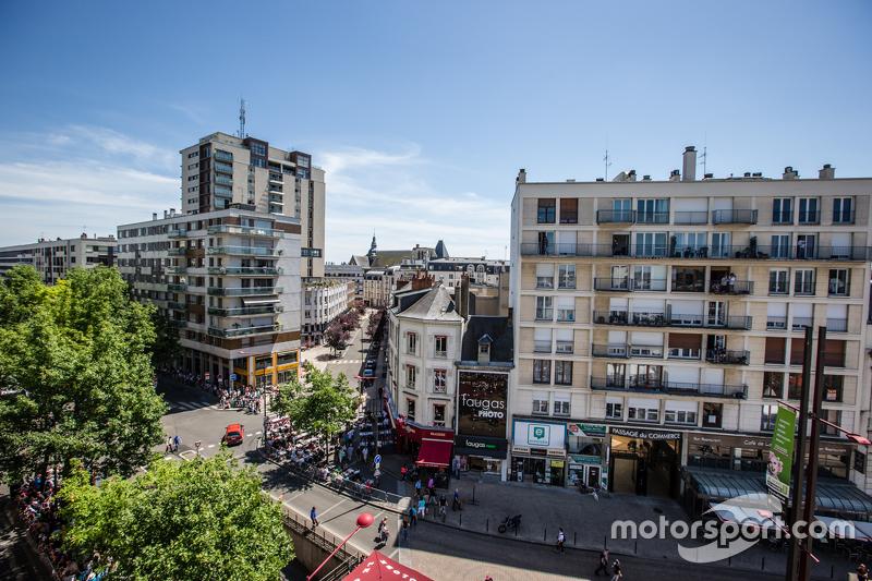 Pemandangan dari Le Mans