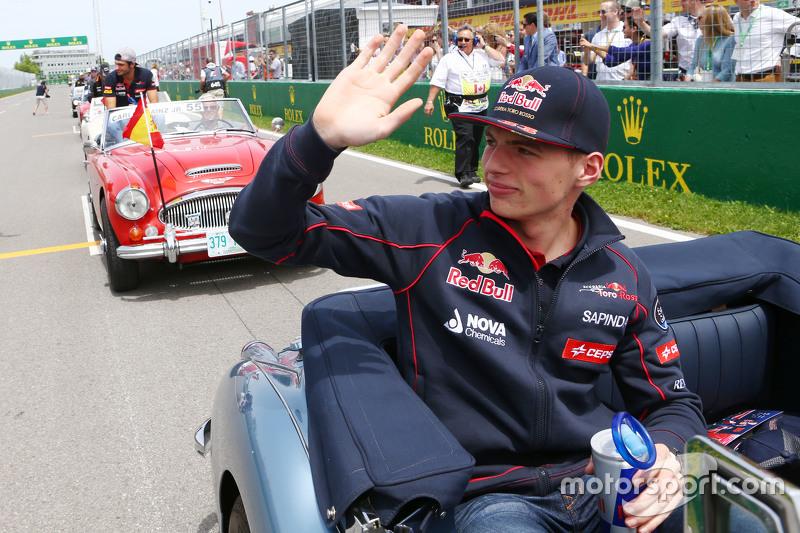 Макс Ферстаппен, Scuderia Toro Rosso на параді пілотів