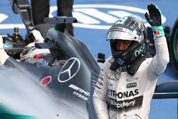 Podium: Second place Nico Rosberg, Mercedes AMG F2