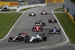 Carlos Sainz Jr., Scuderia Toro Rosso y Felipe Massa, Williams F1 Team