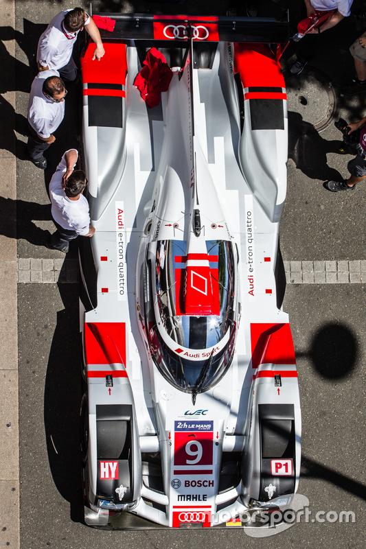 #9 Audi Sport Team Joest, Audi R18 e-tron quattro