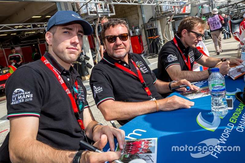 AF Corse, Ferrari: Peter Ashley Mann, Raffaele Giammaria, Matteo Cressoni