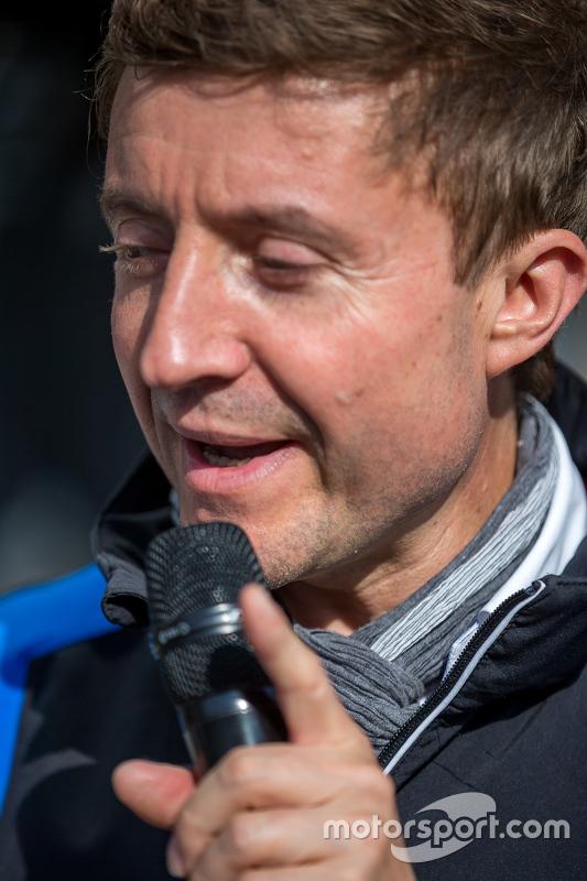 Le Mans announcer Bruno Vandestick