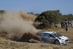 Elfyn Evans and Daniel Barrit, M-Sport Ford Fiesta WRC