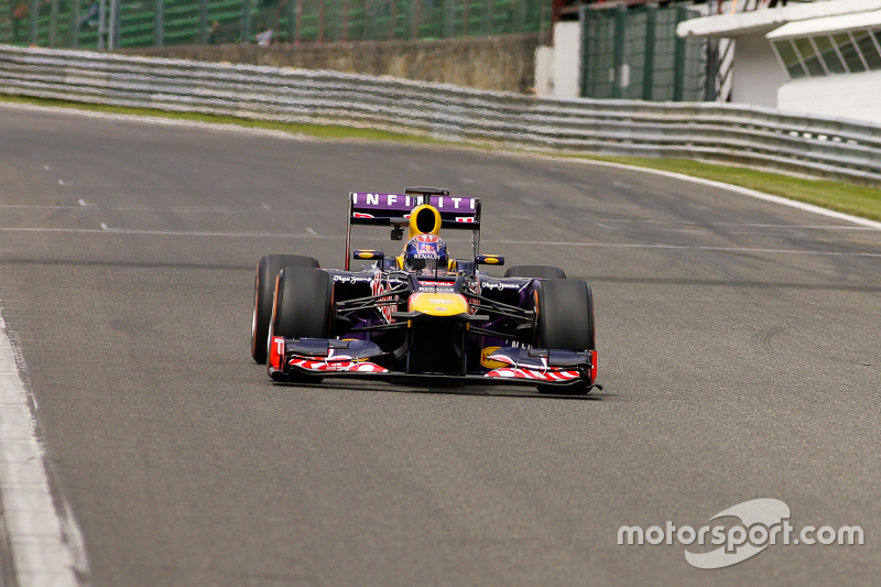 Infiniti Red Bull Racing Formel 1 Show Bei Spa Francorchamps