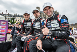 Поул переможці #18 Porsche Team Porsche 919 Hybrid: Марк Ліб, Ніл Яні та Ромен Думас