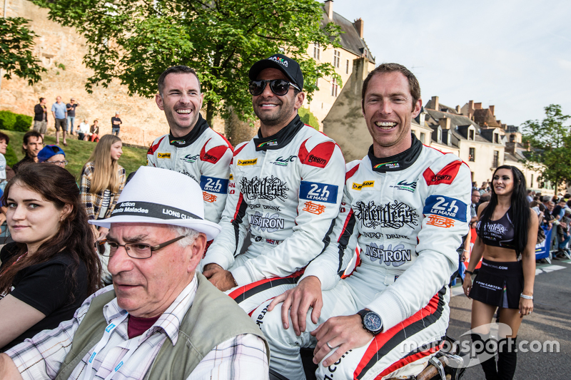 #42 Strakka Racing, Strakka-Dome S103: Danny Watts, Nick Leventis und Jonny Kane
