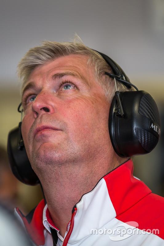 Porsche Team, Wolfgang Hatz, head of Research and Development