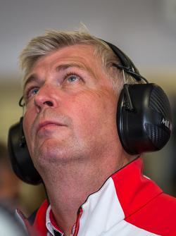 Porsche Team, Wolfgang Hatz, Leiter Forschung und Entwicklung