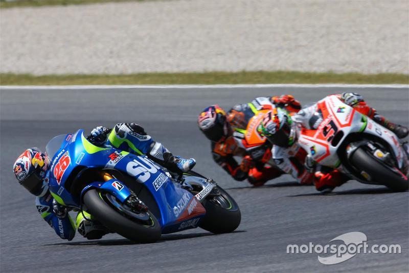 Maverick Viñales, Suzuki MotoGP Takımı ve Danilo Petrucci, Pramac Racing Ducati ve Stefan Bradl, For