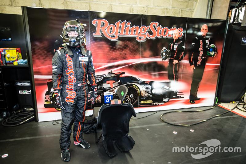#31 Extreme Speed Motorsports, Ligier JS P2: Jon Fogarty
