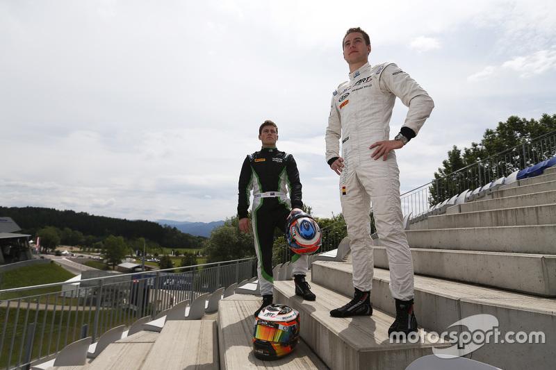 Stoffel Vandoorne, ART Grand Prix, und Richie Stanaway, Status Grand Prix