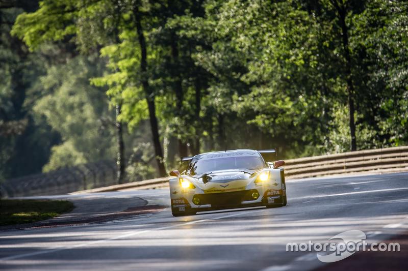 #50 Larbre Compétition Corvette C7.R: Паоло Руберто, Gianluca Roda, Крістіан Поулсен
