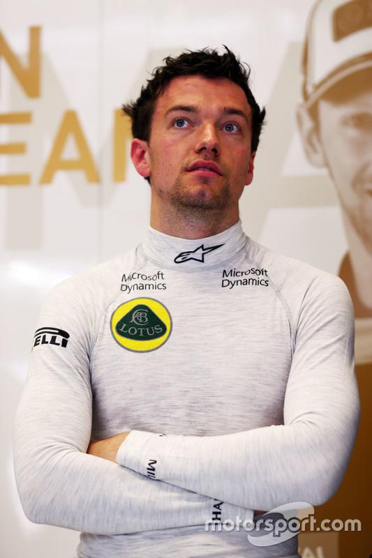 Jolyon Palmer, Lotus F1 Team piloto de testes e reserva