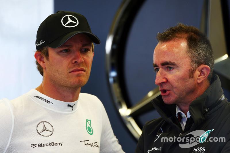 Nico Rosberg, Mercedes AMG F1, mit Paddy Lowe, Mercedes AMG F1, Teamchef