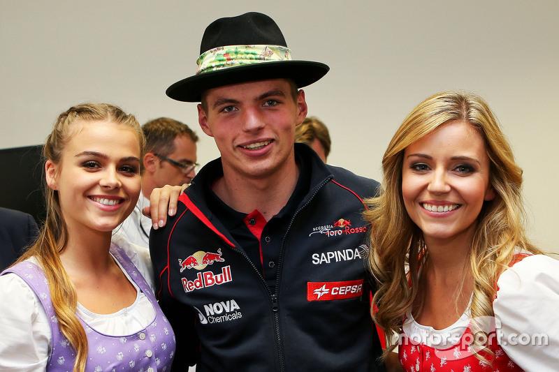 Макс Ферстаппен, Scuderia Toro Rosso з Formula Una girls