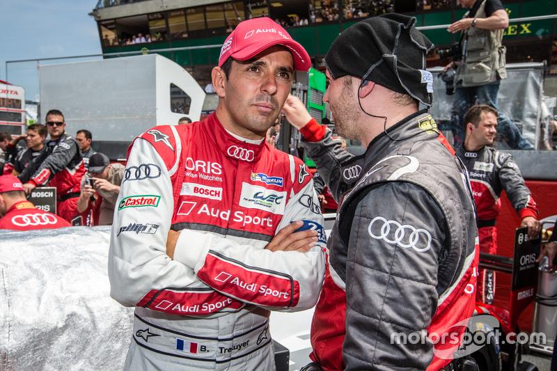 #7 Audi Sport Team Joest, Audi R18 e-tron quattro: Benoit Tréluyer