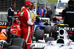 Sebastian Vettel, Ferrari no parc ferme