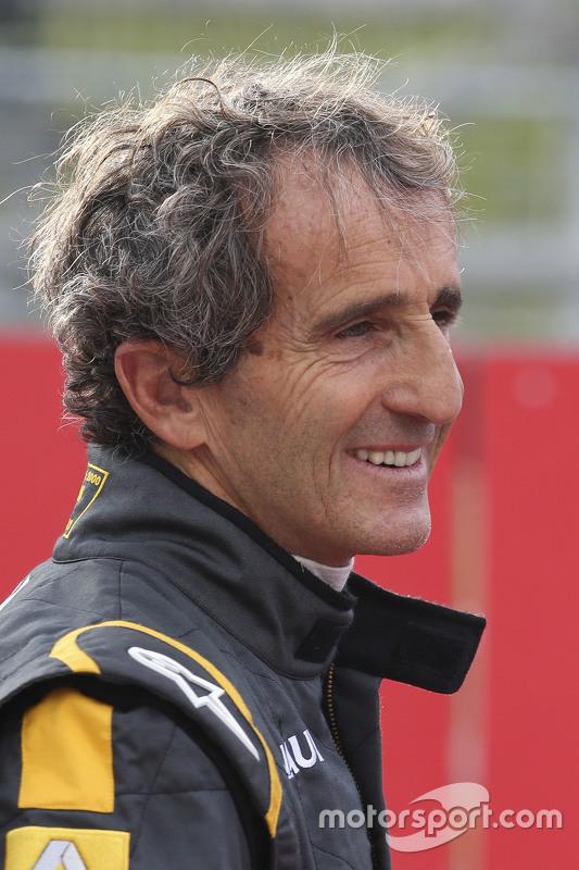 Alain Prost alla Parata delle Leggende