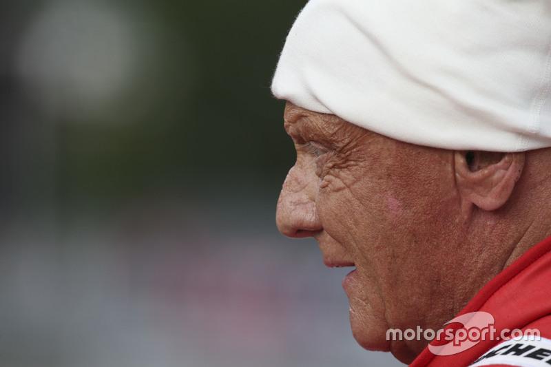 Нікі Лауда, Невиконавчий голова Mercedes на Параді Легенд